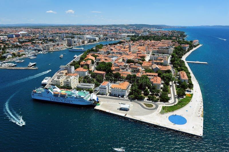 Zadar στοκ φωτογραφίες με δικαίωμα ελεύθερης χρήσης