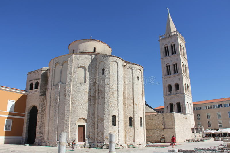 Zadar στοκ φωτογραφία με δικαίωμα ελεύθερης χρήσης