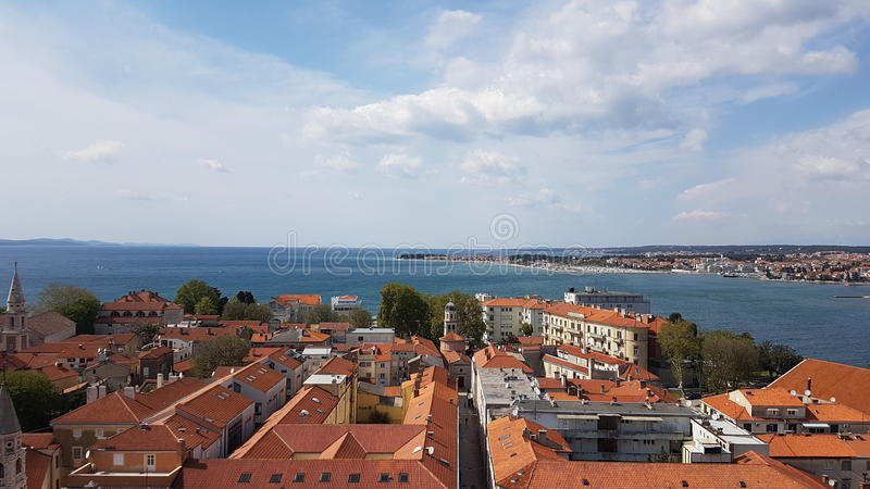 Zadar stockbild