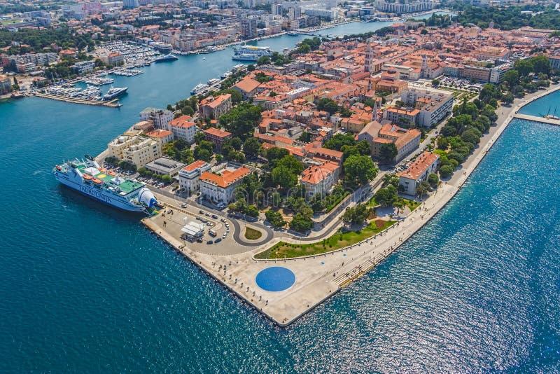Zadar fotografia royalty free