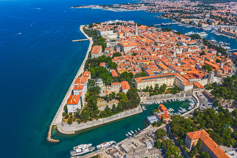 Zadar obraz royalty free