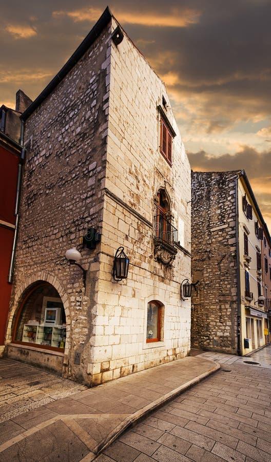 Zadar. Croacia. imagen de archivo
