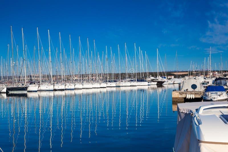 Zadar, Croatia imagen de archivo