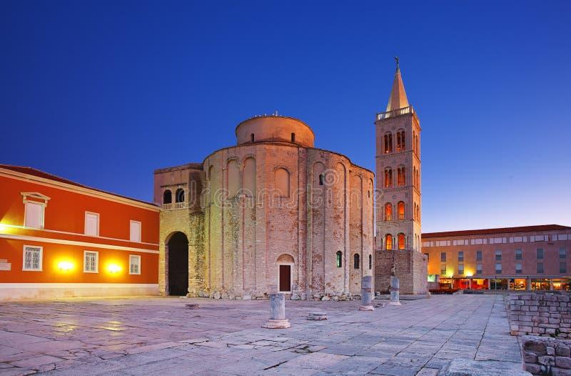 Zadar, Croatie images stock