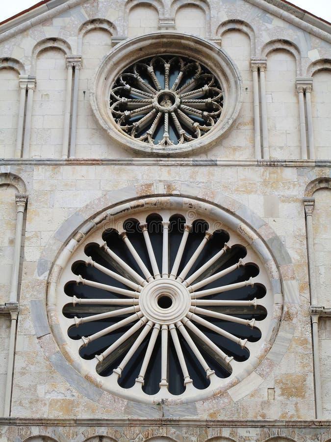 Zadar in Dalmatien Kathedrale des Heiligen Anastasia stockfotos