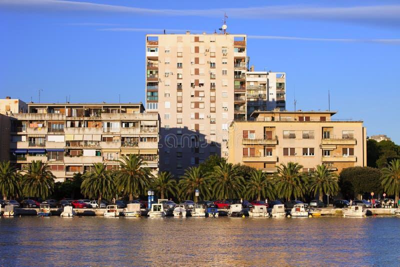 Zadar en Croatia fotografía de archivo libre de regalías