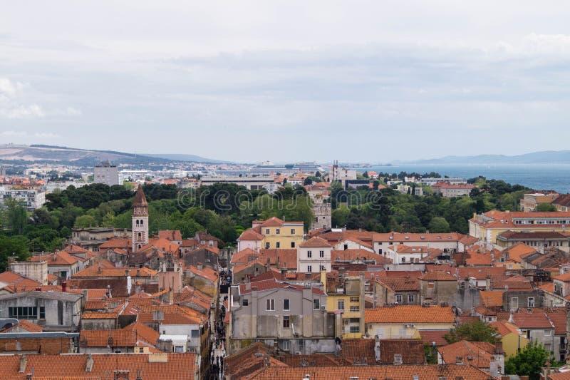 Zadar en Croatie image stock