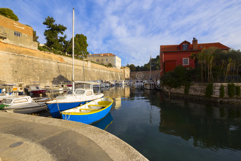 Zadar, Kroatië royalty-vrije stock afbeeldingen