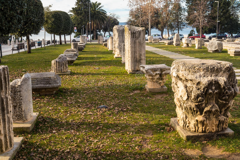 Zadar kroatien lizenzfreies stockfoto
