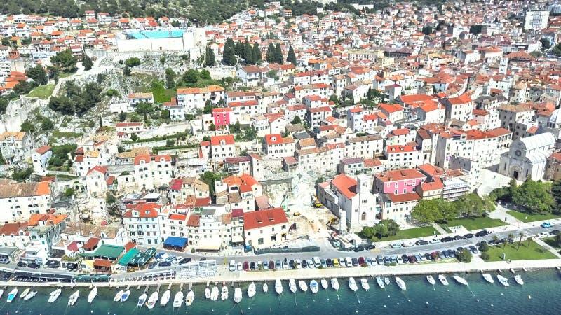 Zadar, litoral, Croácia foto de stock
