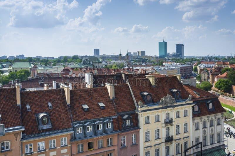 zadasza Warsaw zdjęcie stock