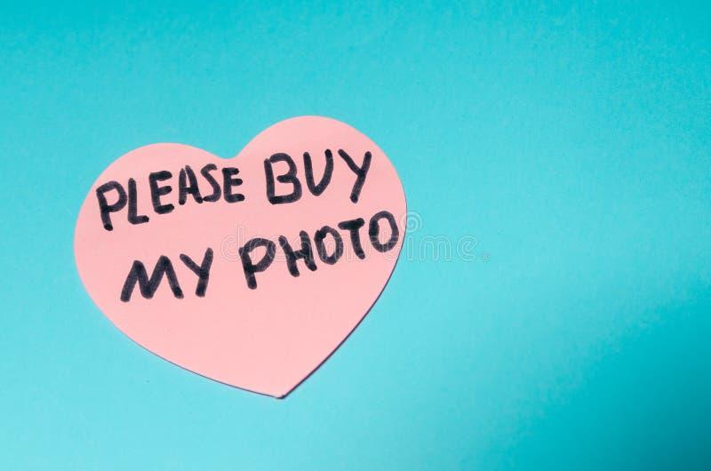 Zadawala zakup mój fotografia zdjęcia stock