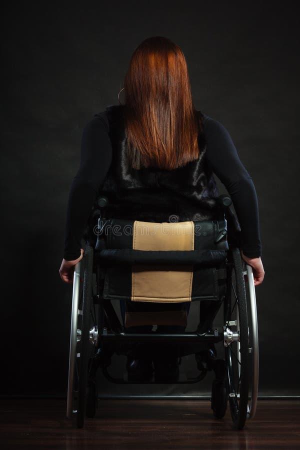 Zadek niepełnosprawna osoba obrazy stock
