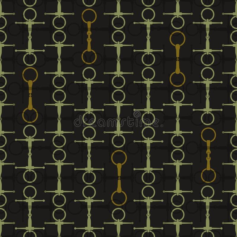 Zadelachtergrond vector illustratie