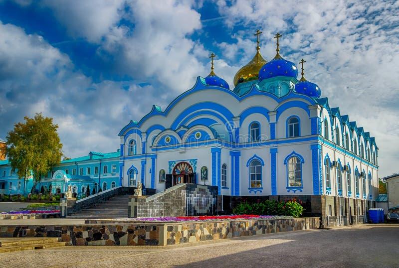 Zadonsk-Männer Geburt Christi unser Dame Convent Lipetsk oblast Russland stockbilder