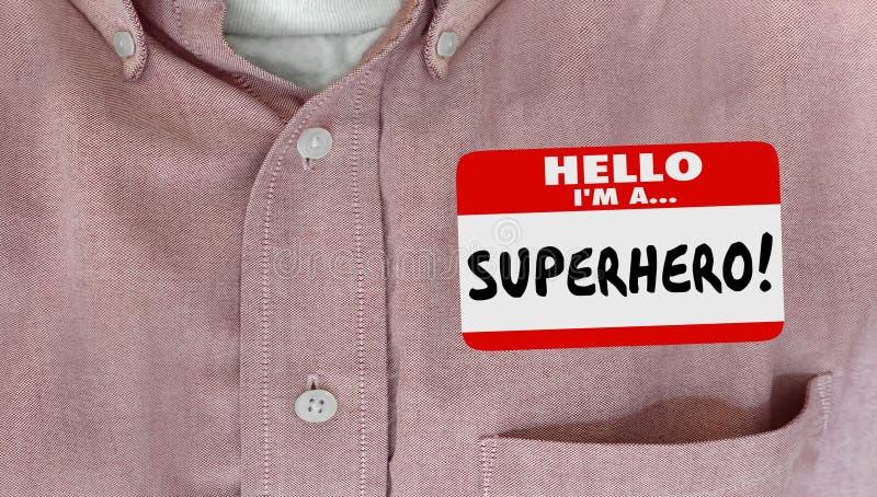 Zadowoleni klienta Nametag koszula słowa ilustracja wektor
