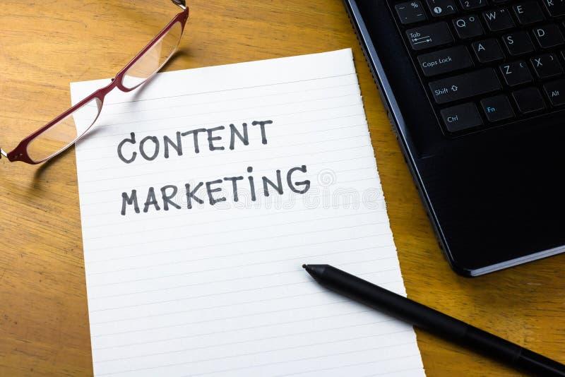 Zadowolony marketing obraz royalty free
