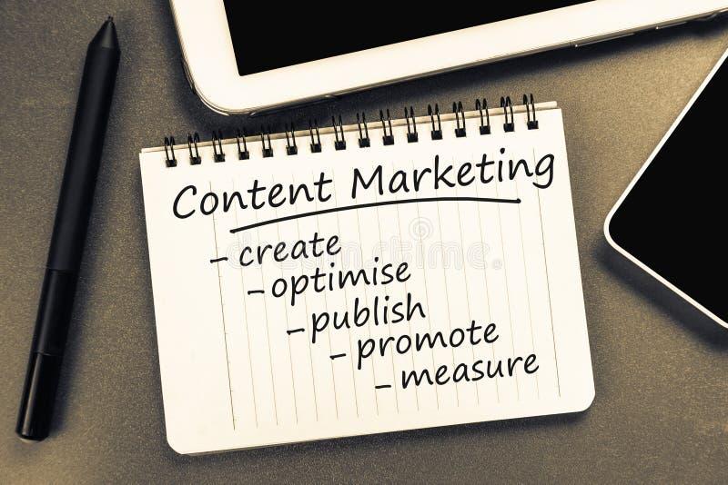 Zadowolony marketing obrazy stock
