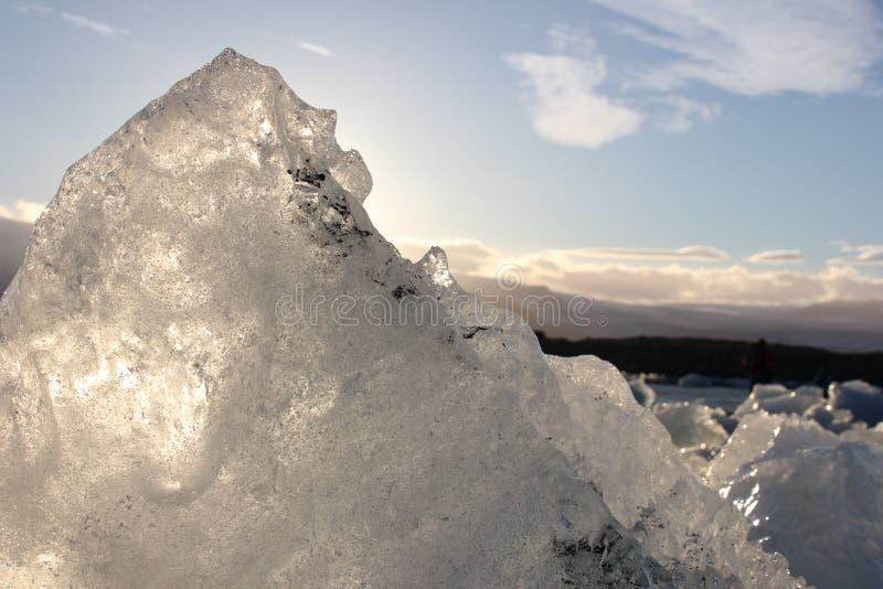 Zadziwiać kawałki lodowi floes zdjęcia royalty free
