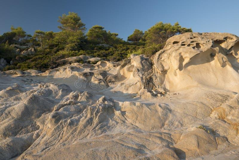 Zadziwiać skały fotografia stock