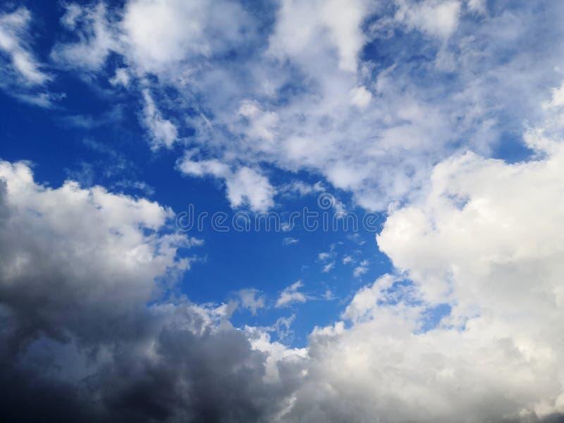 Zadziwia chmury zdjęcie royalty free