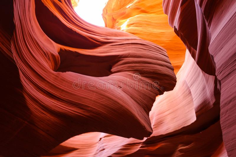 Zadziwiający Niski antylopa jar w Arizona obraz royalty free