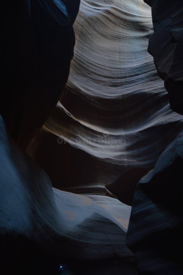 Zadziwiające Geological formacje W antylopa jarze Ziemia Navajos geom wakacje Podróż zdjęcia royalty free