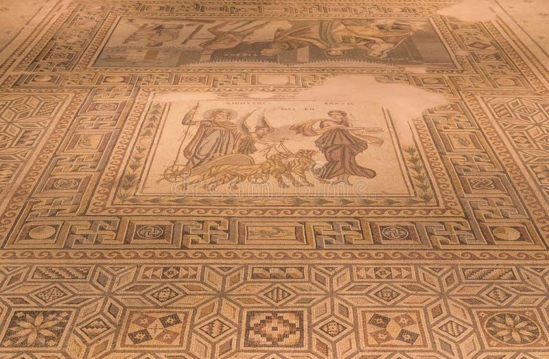 Zadziwiające mozaiki Gaziantep, Turcja obrazy royalty free