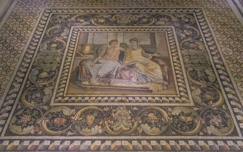 Zadziwiające mozaiki Gaziantep, Turcja obraz royalty free