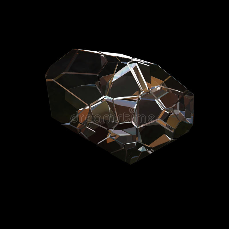 Zadziwiającego kolorowego Diamentowego Kwarcowego tęcza płomienia Aqua aury grona Błękitnego krystalicznego zbliżenia makro- odos royalty ilustracja