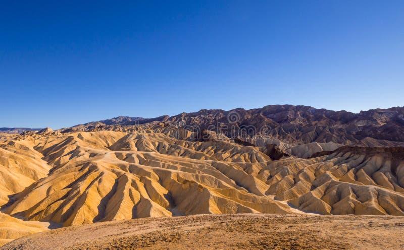 Zadziwiający Śmiertelny Dolinny park narodowy na słonecznym dniu fotografia stock