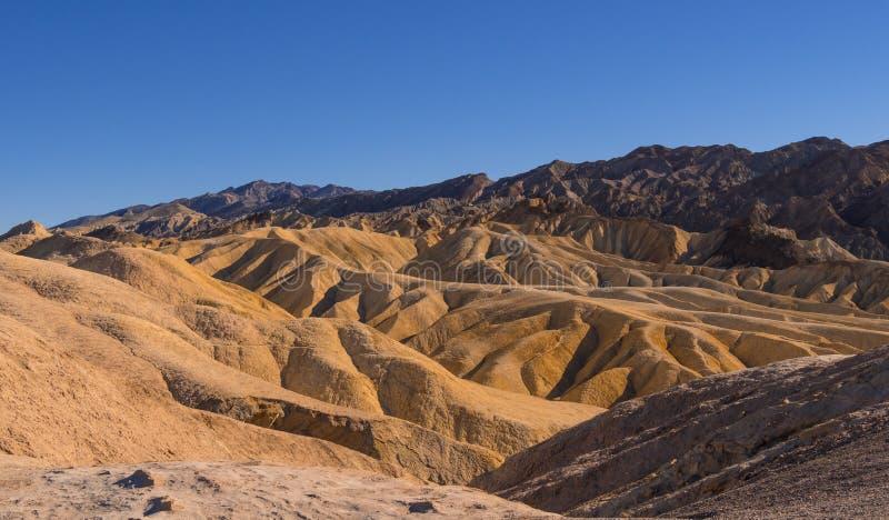 Zadziwiający Śmiertelny Dolinny park narodowy na słonecznym dniu obrazy stock