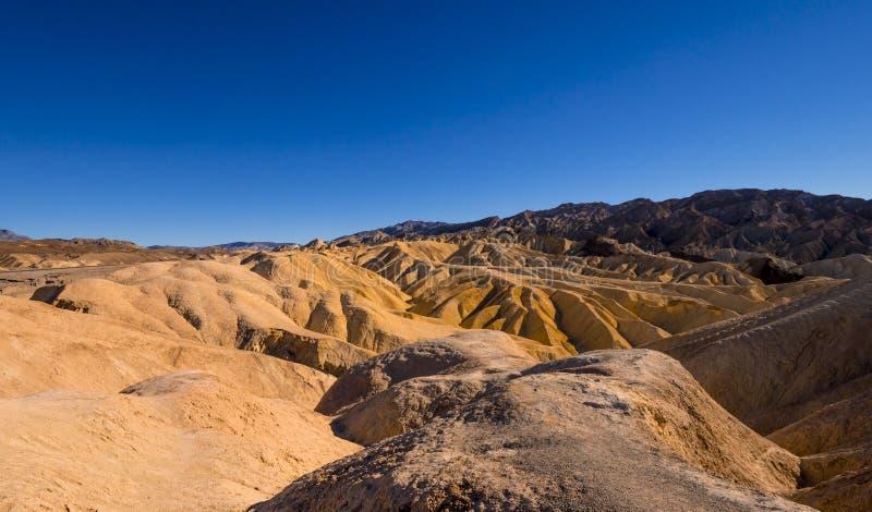 Zadziwiający Śmiertelny Dolinny park narodowy na słonecznym dniu zdjęcia stock