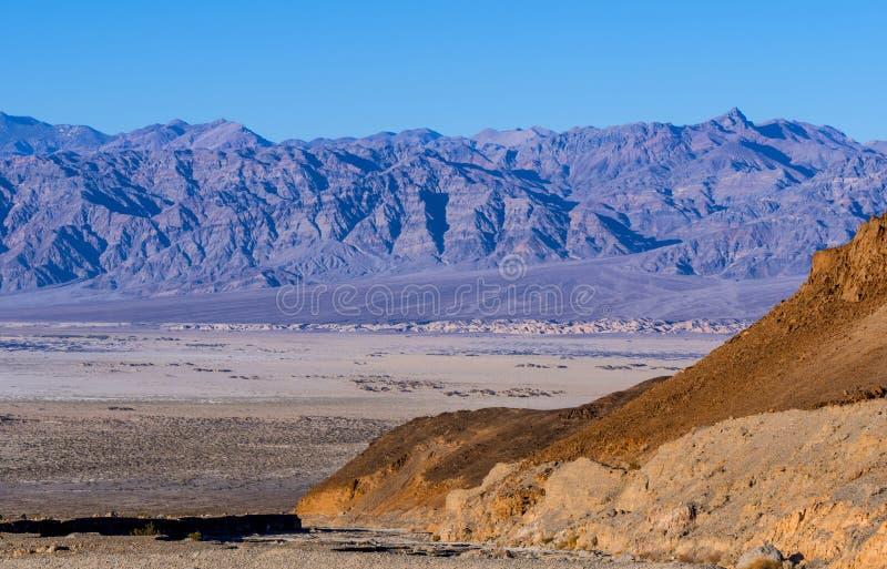 Zadziwiający Śmiertelny Dolinny park narodowy w Kalifornia na słonecznym dniu zdjęcie royalty free