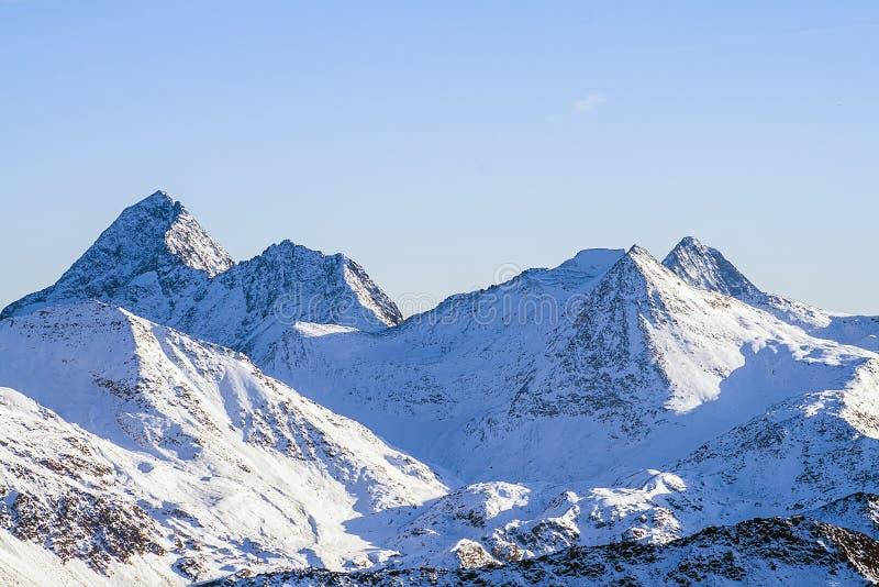 Zadziwiający Alpejski krajobraz obraz royalty free