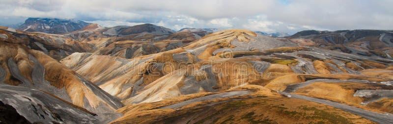 Zadziwiający krajobraz w Iceland zdjęcia royalty free