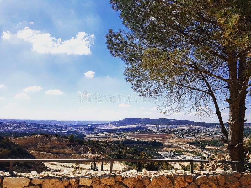 Zadziwiający krajobrazy Izrael, widoki kocham zdjęcia stock