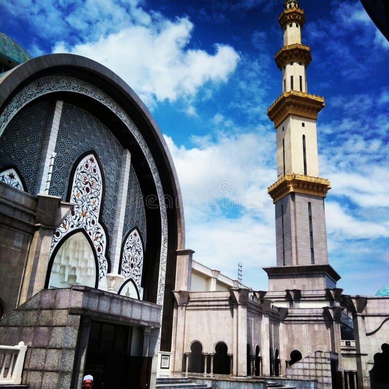 Zadziwiający meczet fotografia royalty free