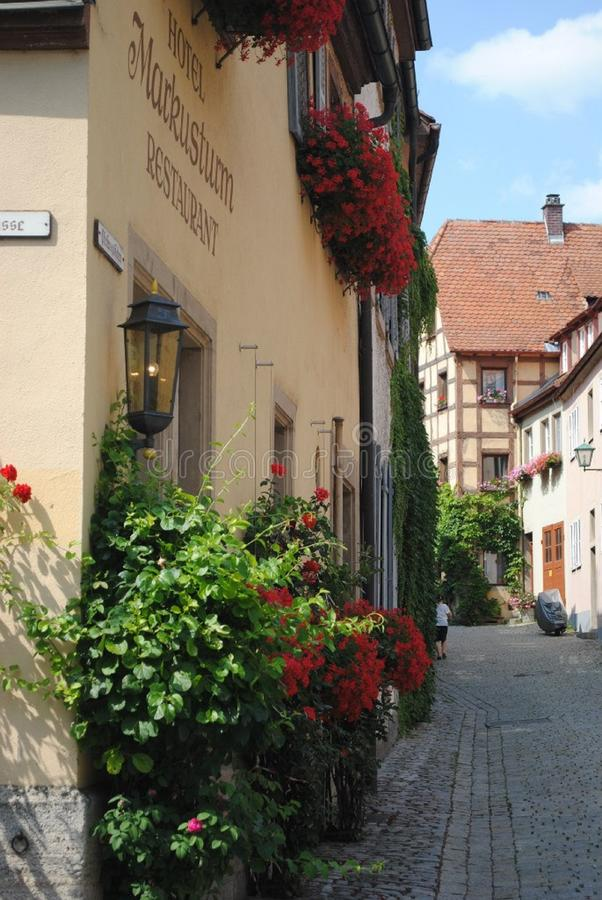 Zadziwiający miejsce dla żyć Niemcy zdjęcia royalty free