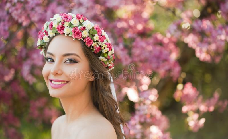 Zadziwiający naturalnej wiosny piękno obrazy royalty free
