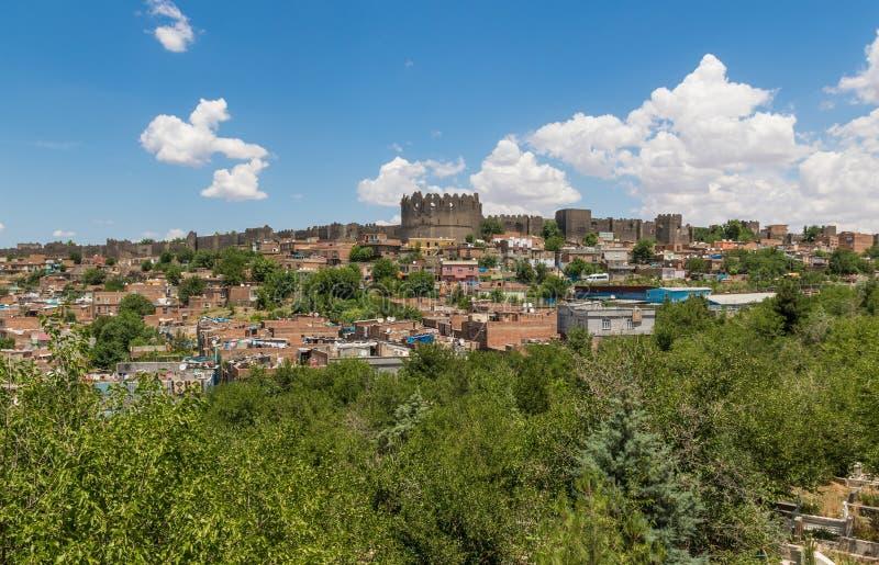 Zadziwiający piękno Dyarbakir, Turcja obraz royalty free