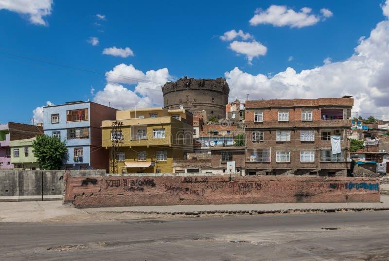 Zadziwiający piękno Dyarbakir, Turcja zdjęcia stock