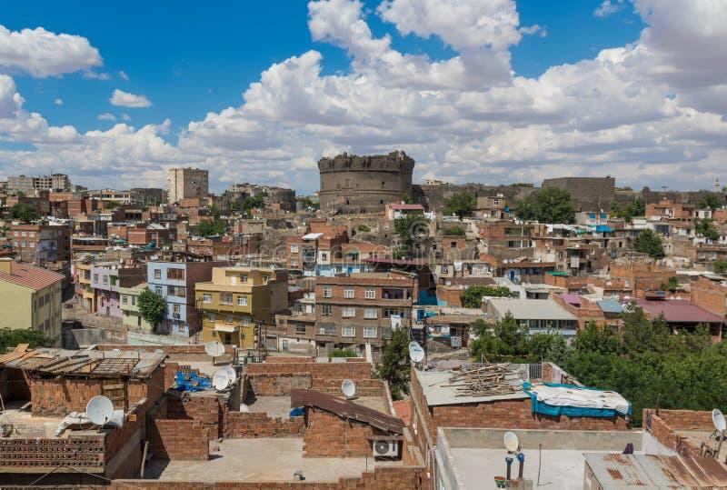 Zadziwiający piękno Dyarbakir, Turcja zdjęcie stock