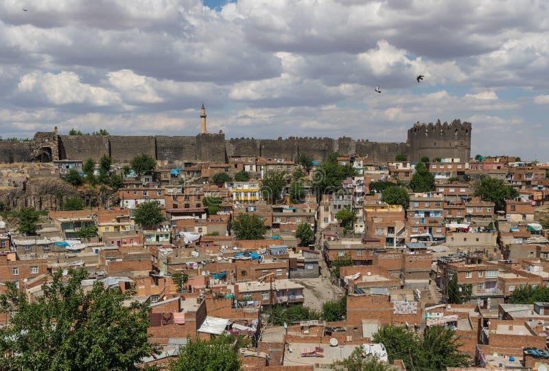 Zadziwiający piękno Dyarbakir, Turcja obrazy stock