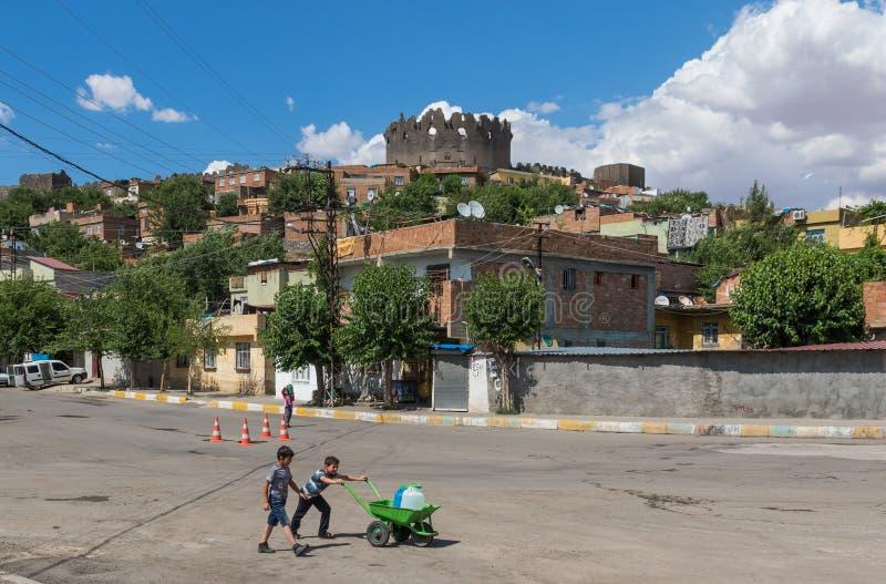 Zadziwiający piękno Dyarbakir, Turcja fotografia royalty free