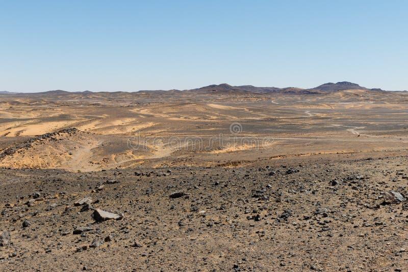 Zadziwiający widok wielkie piasek diuny w saharze, erg Chebbi, Merzouga, Maroko obraz royalty free