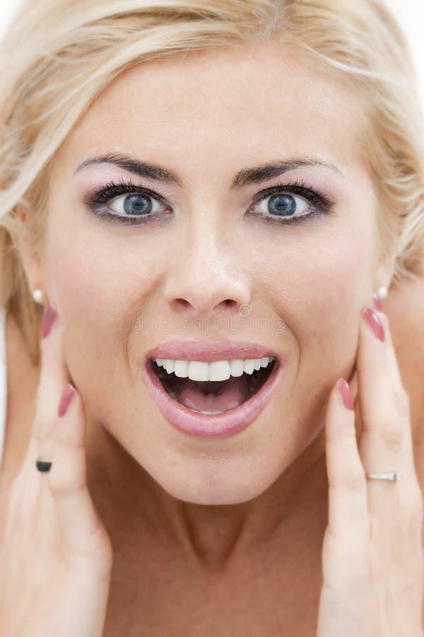 Download Zadziwiająca kobieta zdjęcie stock. Obraz złożonej z zdumienie - 8612804