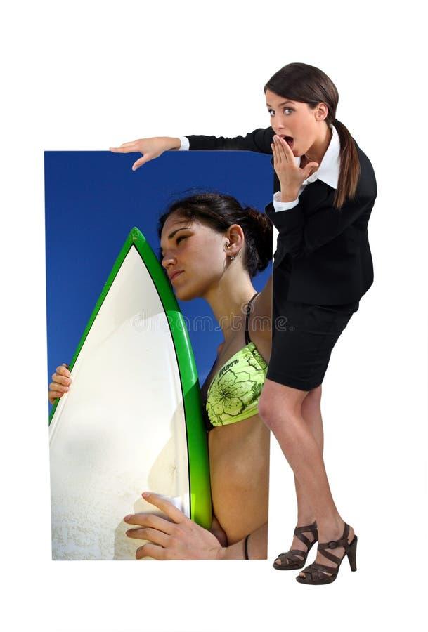 Download Zadziwiający bizneswoman obraz stock. Obraz złożonej z bizneswoman - 23860159