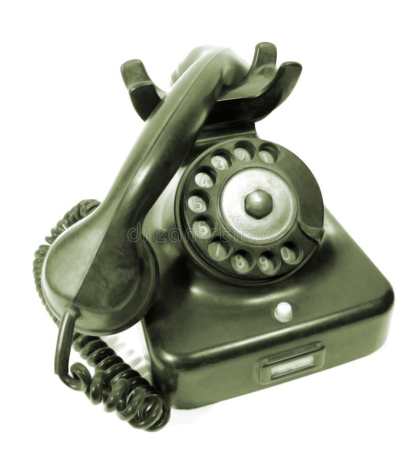 zadzwoń do antykwarskiej obrotowy telefon zdjęcie royalty free
