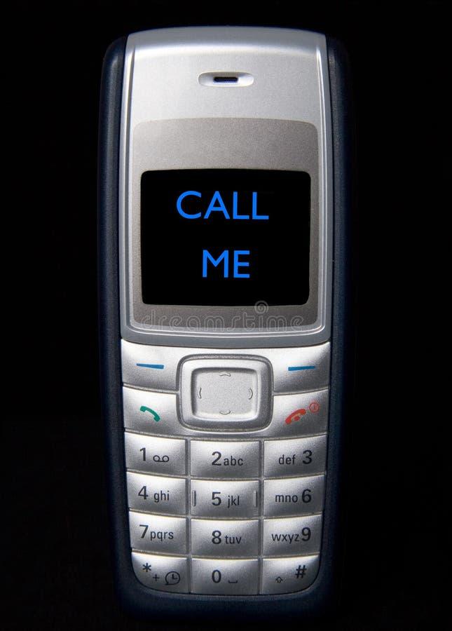 zadzwoń do mnie obrazy stock